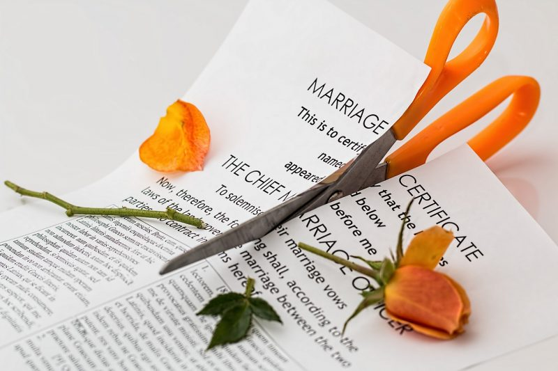 Choosing a divorce process