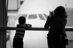 Separated and divorced parents and holidays abroad