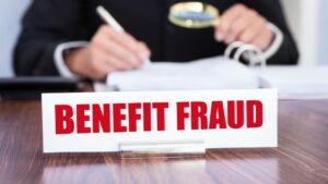 benefit fraud image